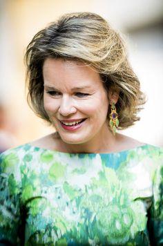 La veille encore sous le signe du piano, la reine Mathilde de Belgique a rendu hommage ce mardi avec le roi des Belges Philippe au poète Emile Verhaeren.