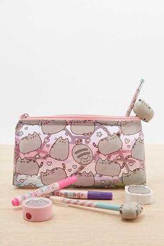 Shop Pusheen Pencil Case at Urban Outfitters today. Cute Pencil Case, Pencil Cases, Pusheen Love, Bebidas Do Starbucks, School Suplies, Mode Kawaii, Cute Stationary, Kawaii Room, Cute School Supplies