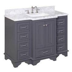 Best Heritage Norris Gray 60 Double Bowl Vanity Shaker Style 640 x 480