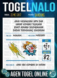 Paito JP 5D Togel Wap Online TogelNalo Bandung 22 Mei 2017