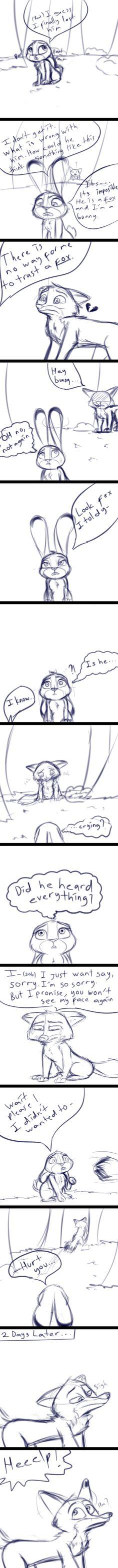 True Feelings Part1 - Sketch comic by gokhan16