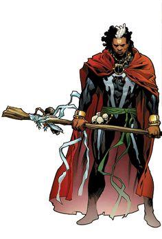 Dr Voodoo by Stuart Immonen