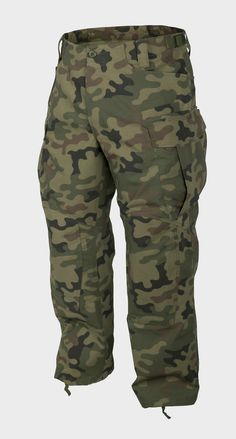 480101bb5a1 Helikon SFU Polish army woodland Camo combat pants tactical cargo trousers  in Sporting Goods