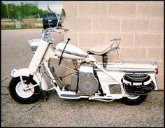 1959 cushman super eagle scooter