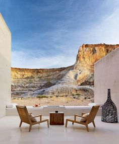 "Beautiful Amangiri Resort with Uninterrupted Splendid Desert ViewsI can't stop dreaming about Amangiri Hotel …. The Amangiri , called ""the peaceful mountain"" is located on 600 acres in Canyon Point, Souther. Architecture Company, Modern Architecture, Cultural Architecture, Outdoor Spaces, Outdoor Living, Outdoor Decor, Amangiri Hotel, Amangiri Utah, Piscina Hotel"