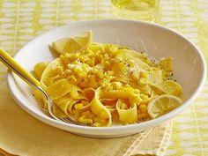 Get Food Network Kitchen's Lemon-Pepper Corn Pasta Recipe from Food Network