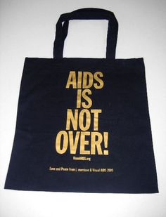 Aids is not over! (Absolutely not!) J. Morrison // All proceeds go to visiualaids.org
