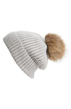 eed2ff57d2a80 Free shipping and returns on Linda Richards Genuine Raccoon Fur Hat at  Nordstrom.com.