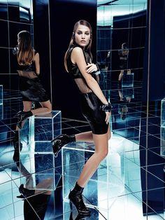 Jogo De Espelhos: Sonya Gorelova By Nicole Heiniger For Harper's Bazaar Brazil December 2014