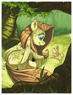 Fluttershy in the Shade