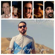 Backstreet Boys 20th anniversary AJ McLean
