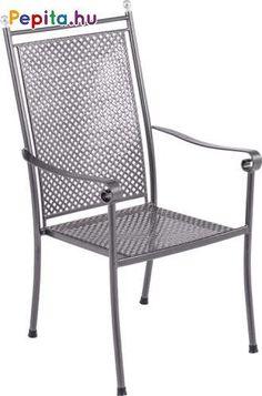 Az Excelsior székben, úgy érezheti magát, mintha egy kastélyparkban ülne. A romantikus dizájn, a minőségi és extra masszív anyag, kiegészítve kézműves részletekkel, a legmagasabb osztályba sorolják ezt a széket. Pihenjen úri módon!    Jellemzők:  - Méretek: 66,5 x 59 x 104 cm  - Súly: 8,56kg Outdoor Chairs, Outdoor Furniture, Outdoor Decor, Royal Garden, Urban, Home Decor, Homemade Home Decor, Garden Chairs, Decoration Home