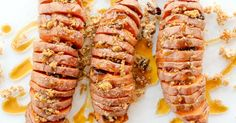 Cinnamon-Spiced Hasselback Sweet Potatoes – Dini Delivers