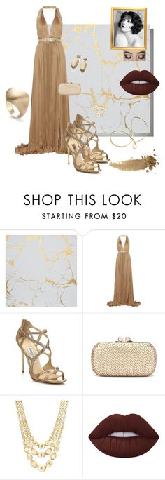 look 6 by lucianatsd on Polyvore featuring moda, Roberto Cavalli, Jimmy Choo, Marco Bicego, Gucci and Lime Crime