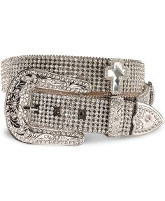 Nocona Rhinestone Cross Buckle Belt    This is the kind of accessory that can bring the bling to any basic outfit or jeans you might already have. This is an accessory you can have forever!