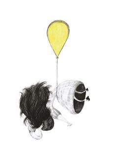 Looking - illustration