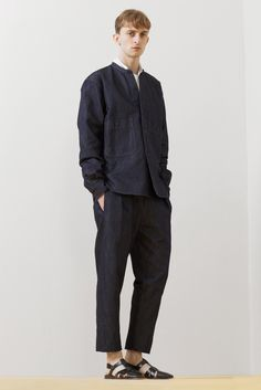 Christophe Lemaire Men's RTW Spring 2014 - Slideshow