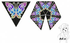 VK is the largest European social network with more than 100 million active users. Peyote Stitch Patterns, Beading Patterns Free, Bead Loom Patterns, Beaded Ornament Covers, Beadwork Designs, Beaded Boxes, Peyote Beading, Seed Bead Jewelry, Tricot