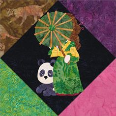 (7) Name: 'Quilting : Sunbonnet Sue In China (2016 BOTM)