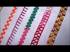 Basic Embroidery Stitches # Part-3 | Embroidery stitch for beginners