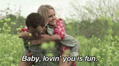 lovin you is fun... Awe :)