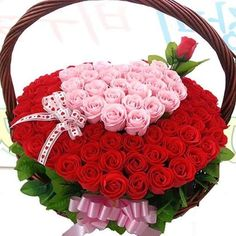 Valentine Flower Arrangements, Floral Arrangements, Funeral Flowers, Wedding Flowers, Amazing Flowers, Nice Flower, Different Kinds, Romantic Pictures, Arte Floral