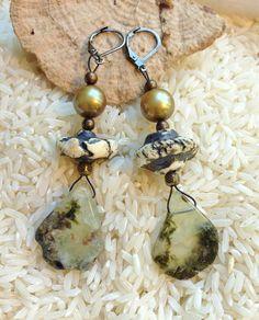 Bohemian Gypsy Handmade Earrings of by SheriMalleryHandwork