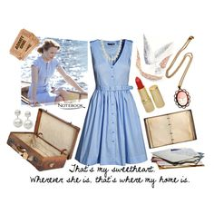 Allie Hamilton (The Notebook) Inspired, created by natiraye on Polyvore