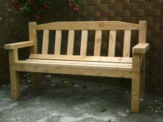Macrocarpa classic bench