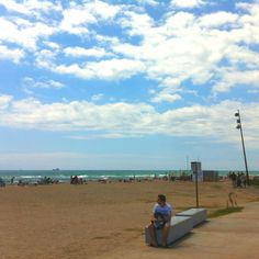 Prat de Llobregat beach, near Barcelona and really close to my home
