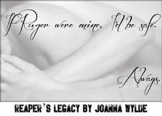 Goodreads | Reaper's Legacy (Reapers MC, #2) by Joanna Wylde — Reviews, Discussion, Bookclubs, Lists