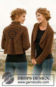 crochet jacket shrug free pattern
