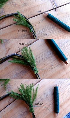 Pin by Sariette GO on Bricolage noel Christmas Diy, Christmas Wreaths, Without You, Vase, Decoration Table, Diy Wreath, Branches, Hair Accessories, Doors