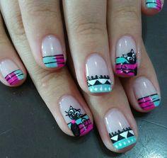 Indian Nails, French Tip Nails, Trendy Nails, Opi, Manicure, Nail Polish, Lily, Make Up, Nail Art