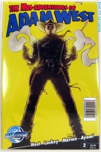 No Slice! Mis-Adventures of Adam West #2 Batman Bluewater Comics (2011) FREE Shipping + Spin2Win