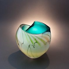 Art Glass by Michelle Kaptur by Michelle Kaptur, via Flickr