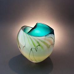 Art Glass by Michelle Kaptur by Michelle Kaptur, via Flickr