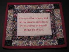 quilt labels sayings - Google Search