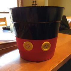 My Mickey Mouse flower pot