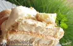 Citromos tiramisu torta recept fotóval