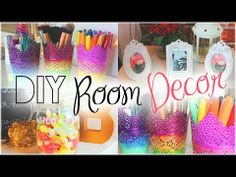 ▶ DIY Spring Room Decor + CALLING SUBSCRIBERS - YouTube