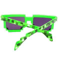 Fashion Mine Craft Sunglasses Kids Cosplay Action Game Toys Square Glasses Gifts For Men Women Gags & Practical Jokes TM0059