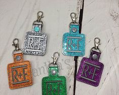 Rodan Fields Key Chains Advertise RF Rodan and Fields Adoption Gifts, Gifts For Sports Fans, Embroidered Gifts, Christmas Gift Box, Craft Business, Rodan And Fields, Childrens Party, New Baby Gifts, Family Gifts