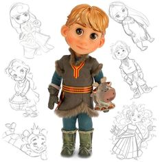 "Disney Animators Collection ""Kristoff Doll"" - Frozen - 16 Inch , NEW  #Disney"