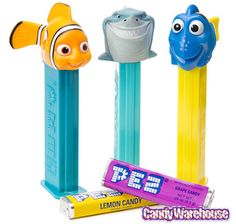 Just found Finding Nemo PEZ Candy Packs: 12-Piece Display @CandyWarehouse, Thanks for the #CandyAssist!