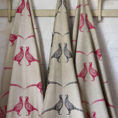 Inspiration and ideas for fabric, wallpaper and paint, together with a selection of the best British boutique brands to buy online from the PatternSpy shop. Curtains Or Roman Blinds, Fabric Blinds, How To Hang Wallpaper, Fabric Wallpaper, Kitchen Fabric, Kitchen Curtains, Interior Design Process, Animal Print Wallpaper, Boutique Interior