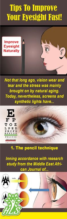 Tips To Improve Your Eyesight Fast!