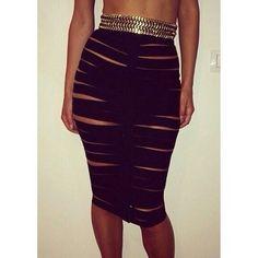 Bandage skirt ♡