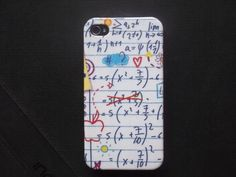 I Love Math Decoupage case/ Classic style/ Vintage / by Nannapatt, $15.50