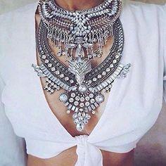 Legend Boho Statement Necklace #fashionista #ootd -  24,90 € @happinessboutique.com